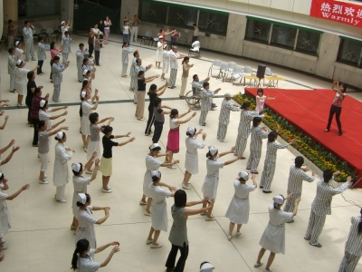SLL Healing Dance Therapy Workshop in China 2008